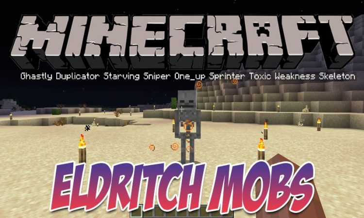 Eldritch Mobs mod for Minecraft logo