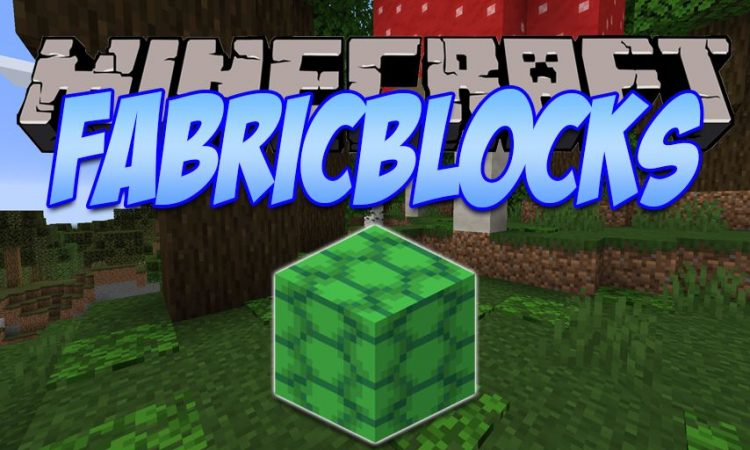 FabriBlocks mod for Minecraft logo
