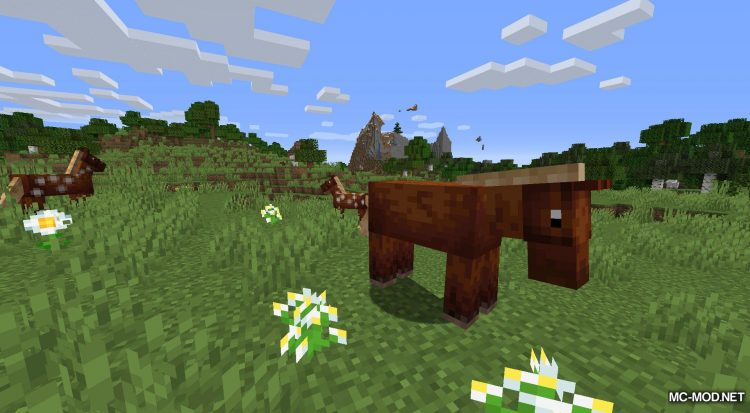 Gentle Fawn mod for Minecraft (1)