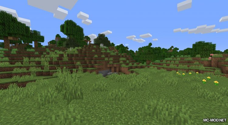 Happy Trails mod for Minecraft (2)