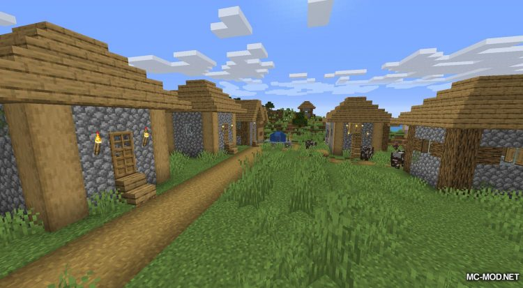 Happy Trails mod for Minecraft (4)