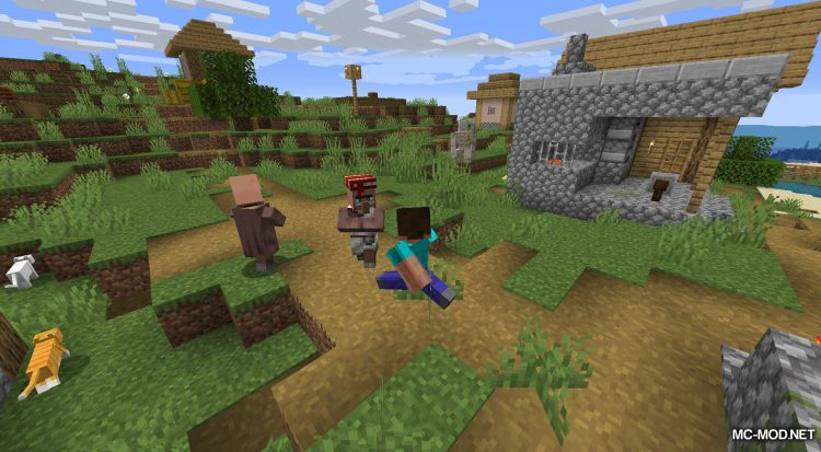 Happy Trails mod for Minecraft (7)