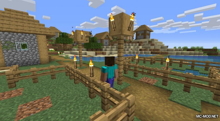 Happy Trails mod for Minecraft (9)