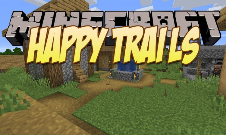 Happy Trails mod for Minecraft logo