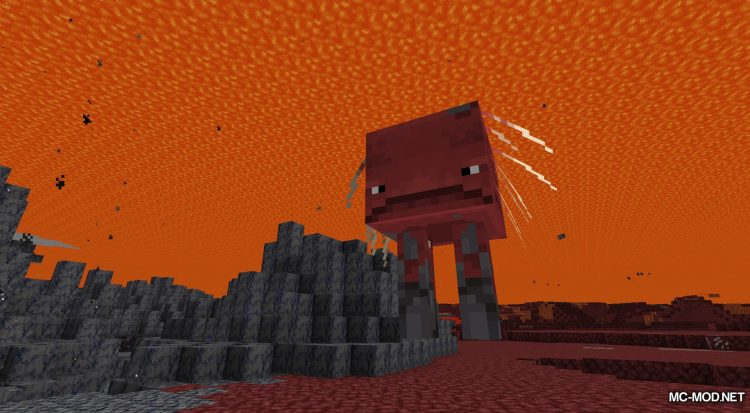 Lava Clear View mod for Minecraft (10)