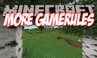 More Gamerules mod for Minecraft logo