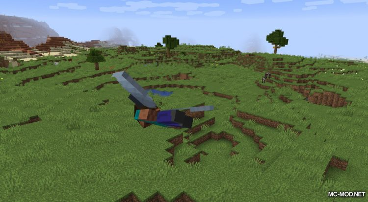 Netherite Elytra mod for Minecraft (4)