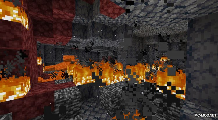 Netherited mod for Minecraft (3)