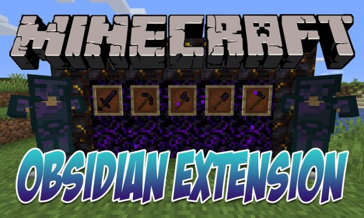 Obsidian Extension mod for Minecraft logo