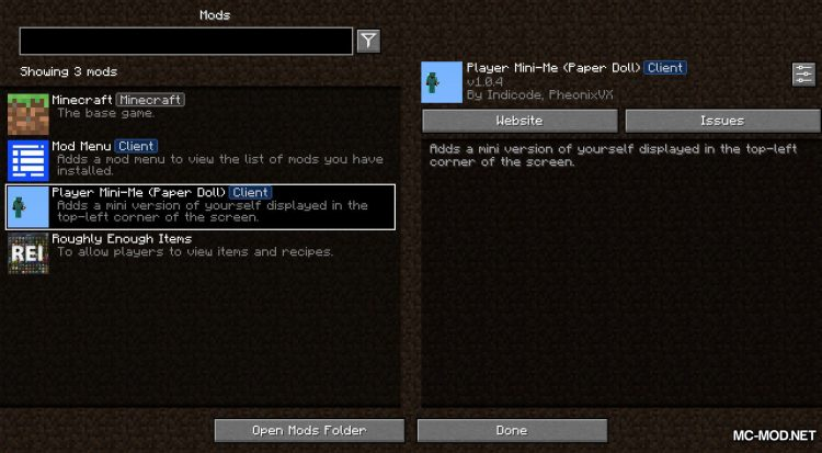 Player Mini-Me mod for Minecraft (1)