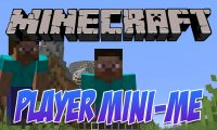 Player Mini-Me mod for Minecraft logo