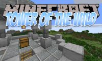 Tower Of The Wild mod for Minecraft logo