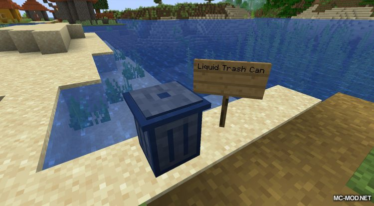 Trash Cans mod for Minecraft (8)