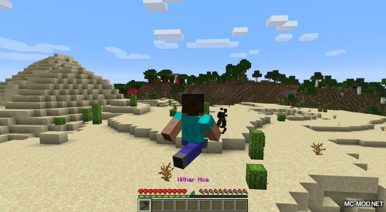 Wither Hoe Mod mod for Minecraft (7)