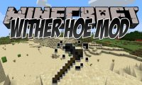 Wither Hoe Mod mod for Minecraft logo