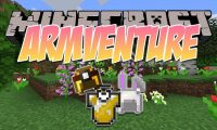 Armventure mod for Minecraft logo