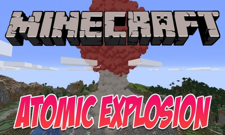 Atomic Explosion mod for Minecraft logo