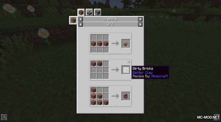 Better Clay mod for Minecraft (6)