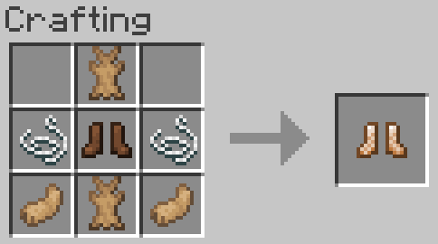 Bunny Boots mod for Minecraft (10)