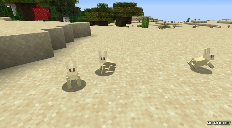Bunny Boots mod for Minecraft (3)