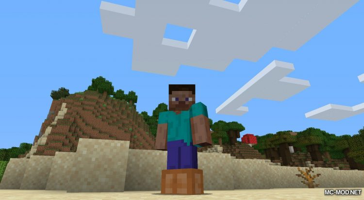 Bunny Boots mod for Minecraft (5)