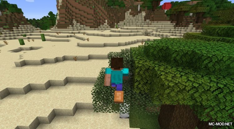 Bunny Boots mod for Minecraft (6)