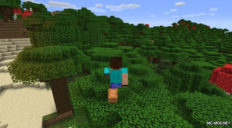 Bunny Boots mod for Minecraft (7)