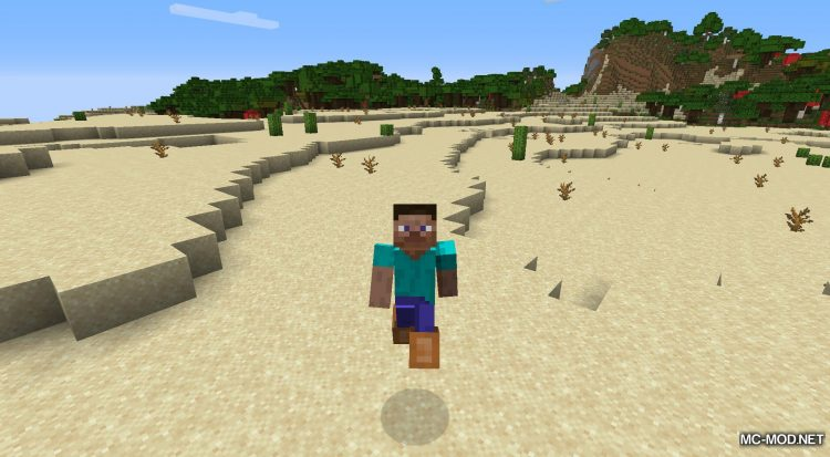 Bunny Boots mod for Minecraft (9)