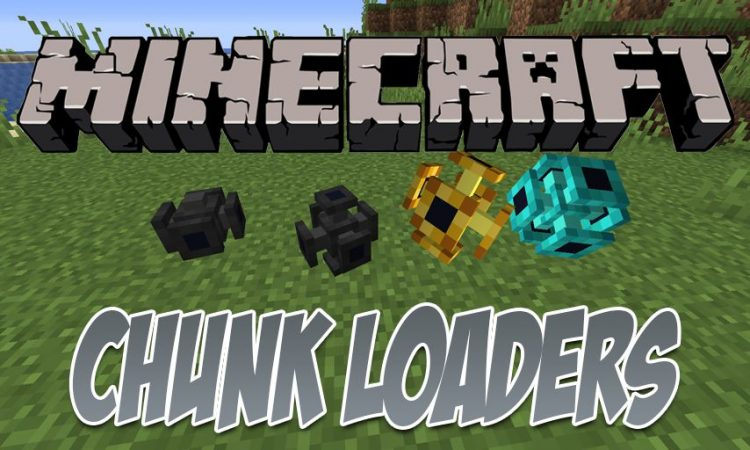 Chunk Loaders mod for Minecraft logo