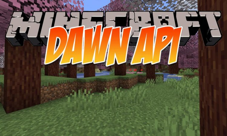 Dawn API mod for Minecraft logo