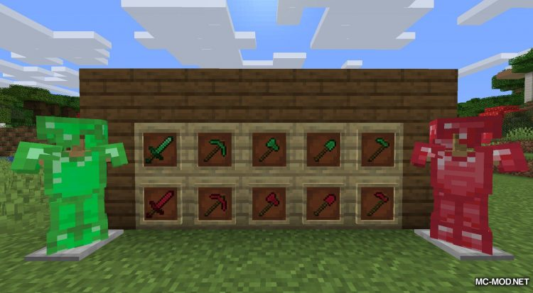 Easy Emerald Tools mod for Minecraft (16)