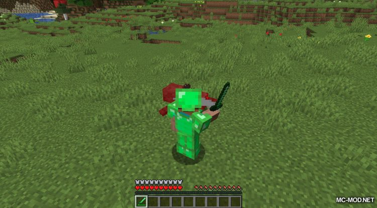 Easy Emerald Tools mod for Minecraft (6)