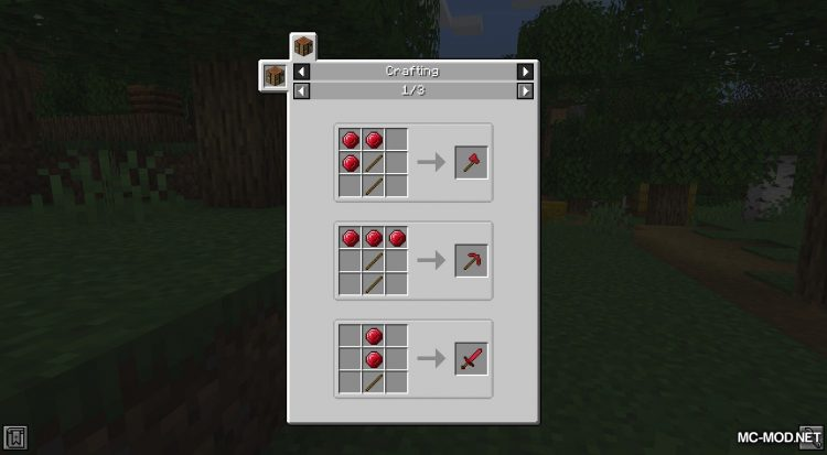 Easy Emerald Tools mod for Minecraft (9)