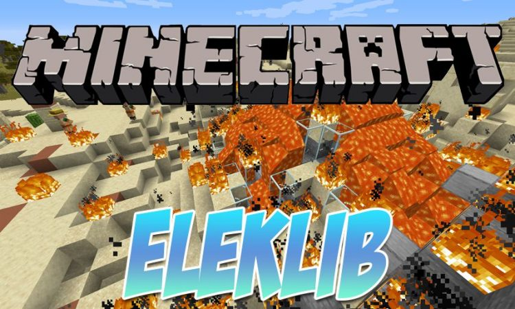 ElekLib mod for Minecraft logo