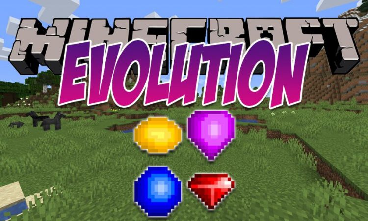 Evolution mod for Minecraft logo