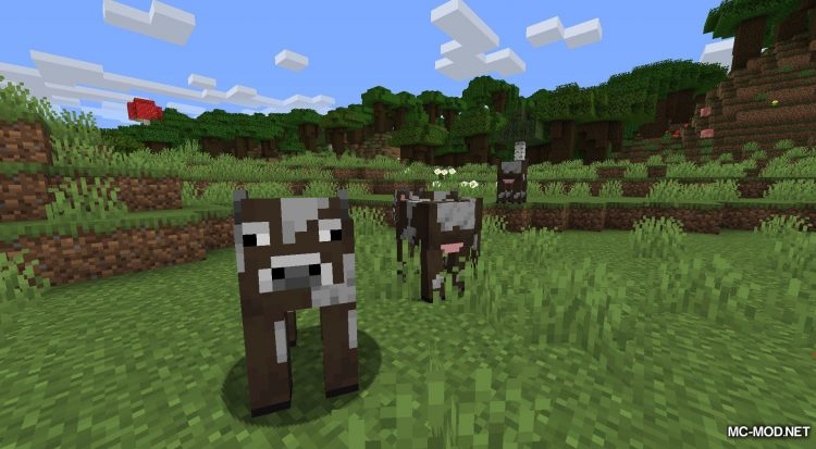 More Living Things mod for Minecraft (1)