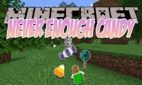 Never Enough Candy mod for Minecraft logo