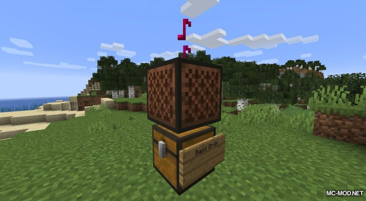 Noteblock Expansion mod for Minecraft (11)