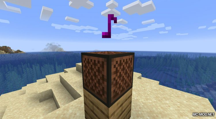 Noteblock Expansion mod for Minecraft (6)