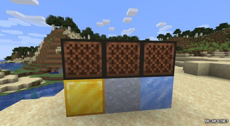 Noteblock Expansion mod for Minecraft (7)