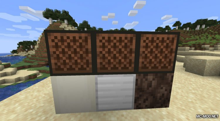 Noteblock Expansion mod for Minecraft (8)