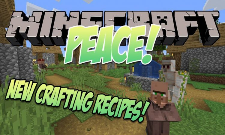 Peace! mod for Minecraft logo