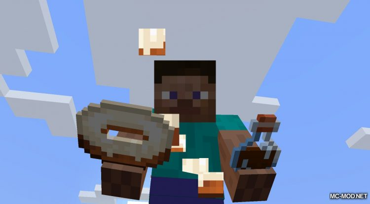 Realistic Bakery Product mod for Minecraft (13)