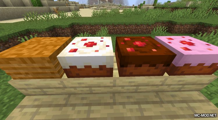 Realistic Bakery Product mod for Minecraft (7)