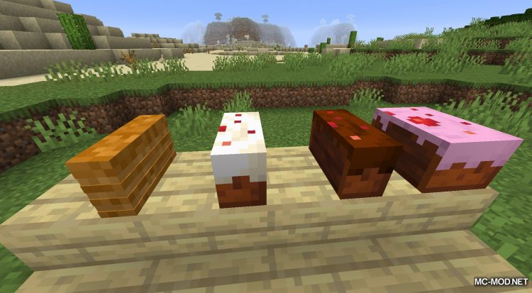 Realistic Bakery Product mod for Minecraft (8)