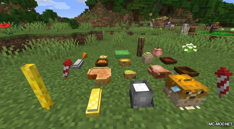 Rosy_s Placeable Items Mod mod for Minecraft (13)
