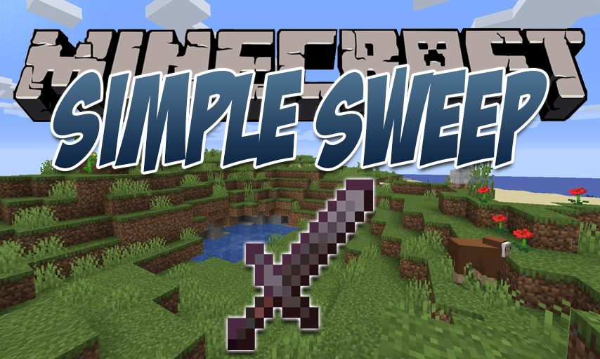 Simple Sweep mod for Minecraft logo