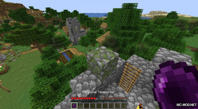 Teleport++ mod for Minecraft (12)
