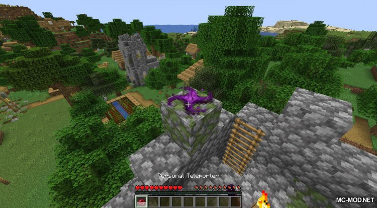 Teleport++ mod for Minecraft (13)