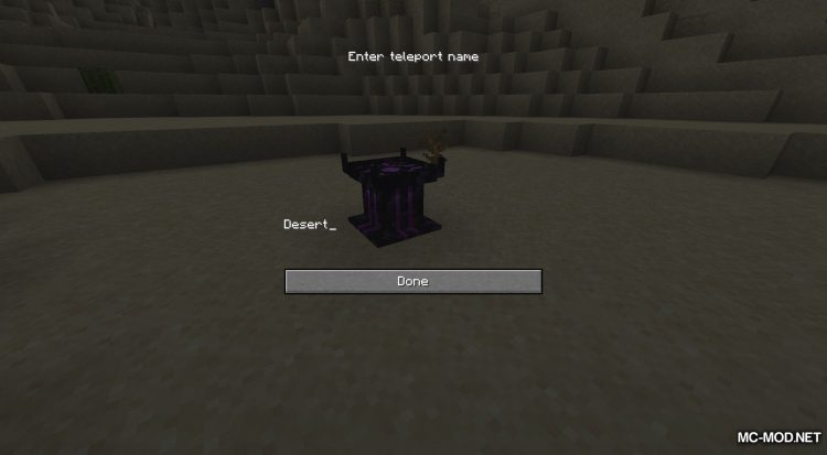 Teleport++ mod for Minecraft (5)